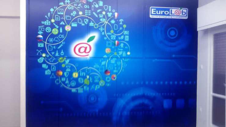 Αυτοκόλλητο Τοίχου Ευρωγνώση