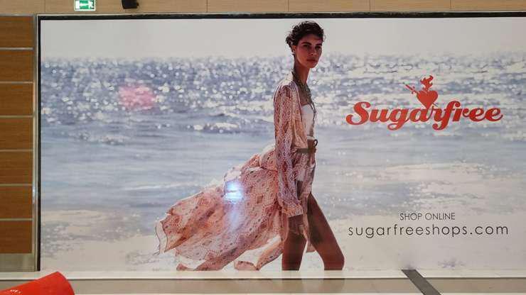 Tαπετσαρία βινυλίου για την Sugar free